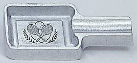 Pewter Cigar Holder