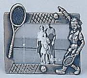 Pewter Frame-Lady Player-Small