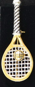 Racquet w/Ball Pin-Two Tone