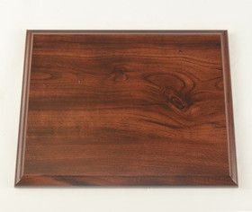 Walnut Trophy Plaque