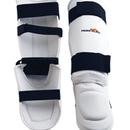Tiger Claw White Vinyl Shin Instep Guard