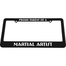 Tiger Claw Black License Plate Frame