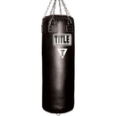 TITLE Boxing HBL Leather Professional Choice Heavy Bag