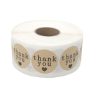 Aspire 1000 Pcs / Roll Thank You Stickers 1.5