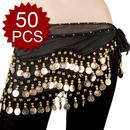 BellyLady Wholesale Zumba Hip Scarves - 50 Scarves