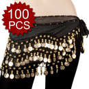 BellyLady Wholesale Lots Of 100 Belly Dance Hip Scarves