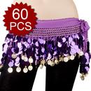 BellyLady Zumba Wholesale Hip Scarves  - 60 Scarves