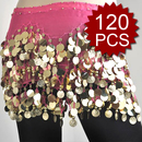 BellyLady Wholesale Belly Dance Hip Scarves - 120 Scarves