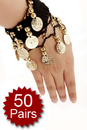 BellyLady Belly Dance Arm Cuffs - 50 Pairs