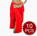 Wholesale Belly Dance Tribal Stamping Skirt - 10 pcs