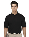 Tri-Mountain 014 Sentinel Men's Cotton/Poly 60/40 Knit Polo Shirt, w/ Mic Loops & Pen Pocket, Embroidery