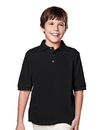 Tri-Mountain 090 Element Youth Youth 60/40 short sleeve pique golf shirt