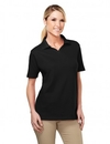 Tri-Mountain 091 Newport Women's 60/40 Johnny collar easy care golf shirt, Embroidery