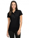 Tri-Mountain 103 Stamina Women's poly UltraCool waffle knit golf shirt, Embroidery