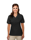 Tri-Mountain 186 Stature Women's cotton baby pique y-neck golf shirt, Embroidery