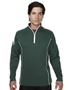 Tri-Mountain 605 Fullerton Men's 100% Polyester Mesh Textured 1/4 Zipper Pullover, Embroidery