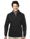 Tri-Mountain 627 Durham Men's 100% Polyester 1/4 Zip LS Knit Shirt, Embroidery