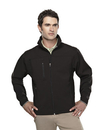 Tri-Mountain 6400 Flight Men's poly stretch bonded soft shell jacket, Embroidery