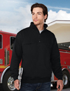 Tri-Mountain 647 Alarm Men's 80% Cotton 20% polyester pullover sweat shirt, Embroidery