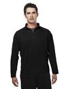 Tri-Mountain 655 Milestone Men's Poly UltraCool pique 1/4 zip pullover shirt, Embroidery