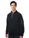 Tri-Mountain 7115 Fairbanks Men's 100% Poly Micro Fleece quarter ziper pullover