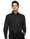 Tri-Mountain 720 Ambassador Men's 60/40 easy care long sleeve twill shirt, Embroidery