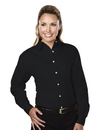 Tri-Mountain 762 Specialist Women's 60/40 stain resistant long sleeve twill shirt, Embroidery