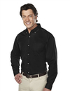 Tri-Mountain 770 Professional Men's 60/40 stain resistant long sleeve twill shirt, Embroidery