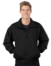 Tri-Mountain 8000 Volunteer Nylon jacket with lightweight fleece lining, Embroidery