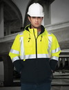 Tri-Mountain 8831 Beacon Men's 100% Polyester Water-Resistant Fleece-lined Safety Jacket