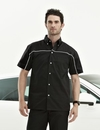 Tri-Mountain 908 Downshifter TMR 60/40 twill shirt with piping, Embroidery