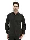 Tri-Mountain 920 Vortex TMR 60/40 easy care slim-fit long sleeve shirt, Embroidery