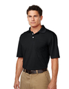 Tri-Mountain K158P Vigor Pocket Men's 100% Polyester S/S Pique Polo, Embroidery