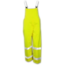 Tingley The Vision For Affordable, Breathable, High Visibility Safety Outerwear Overall - Fluorescent Yellow-Green - Snap Fly Front - Silver Reflective Tape