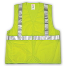 Tingley Polyester Mesh, Hook & Loop Closure, Class 2 High Visibility Vests Fluorescent Yellow-Green