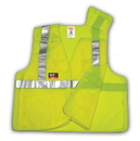 Tingley FR 5 Point Breakaway, Mesh, 6 5 Ounce, 55% Modacrylic/45% Cotton Blend - Solid, FR Hook & Loop Closure, Class 2 High Visibility Vests
