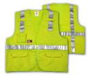 Tingley Surveyor Style, 6 5 ounce, 55% Modacrylic/45% Cotton Blend - Solid, Class 2 High Visibility Vest