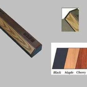 "Flourescent Strip Light 12""-black"