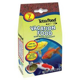 Pond Food Vacation Food Slow Release Feeder Block 3.45oz