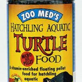 Hatchling Aquatic Turtle Dry Food 1.9oz (jar)