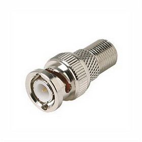 Steren 200-130 Female F to Male BNC Adapter