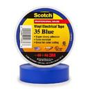 3M Scotch Vinyl Electrical Tape 35 - Blue, 3M-35BL