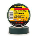 3M Scotch Vinyl Electrical Tape 35 - Green, 3M-35GN
