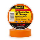 3M Scotch Vinyl Electrical Tape 35 - Orange, 3M-35OR