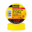 3M Scotch Vinyl Electrical Tape 35 - Yellow, 3M-35YL
