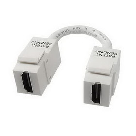 Vanco 820-490X Quickport Pigtail HDMI Module - White