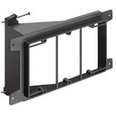Arlington 3-Gang Nail On Low Voltage Mounting Bracket, ARL-LVN3
