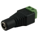 2.1mm Male Power Connector to Removable Terminal Block, CA-151R