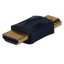 Gold Male HDMI to Male HDMI Adapter, HDMIG-MM