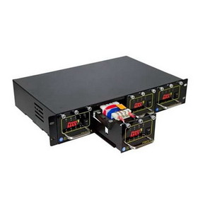Preferred Power PMAX-DC-16 P3 19in Rackmount Power Supply - 16x12VDC 16A